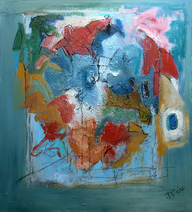 Abstraction in Blue, 2004<br/>